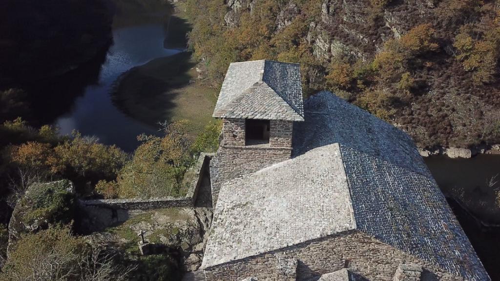 Chapelle des Planques toiture drone